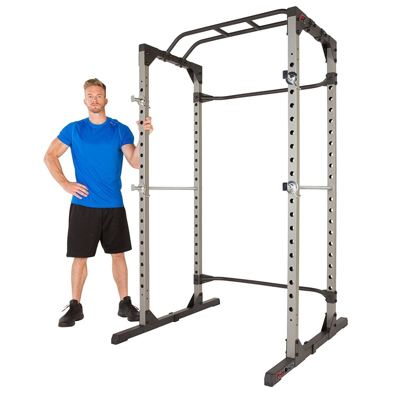 NEW Fitness Power Lifting Cage Pull  Up Workout Stand Metal Squat Station Workout  floor price