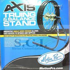 MOTION PRO CB350 CB750 CBR600 XR650 MOTORCYCLE WHEEL TRUING BALANCING STAND