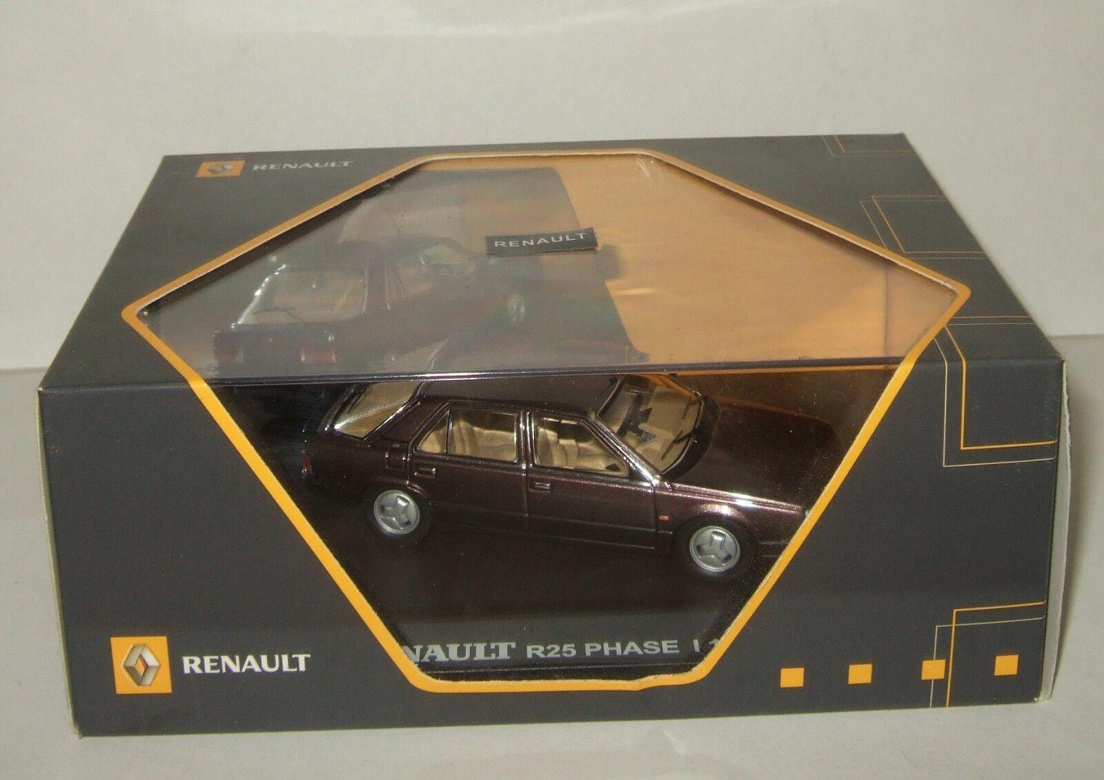 Renault R 25 Phase I 1986 IXO 1 43