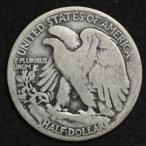** 1920-D Walking Liberty Silver Half Dollar FREE SHIPPING!