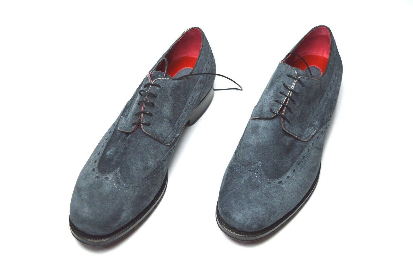 Nuevas botas zapatos talla STEFANO RICCI nos 9 (COD S470)