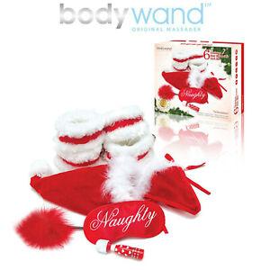 Bodywand Sexy Holiday Bed Spreader Naughty Gift Xmas Christmas Set 6 Natale Eros