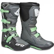 Motocross Boots Enduro Green Laning UFO Avior Black Blue EU 44 UK 9