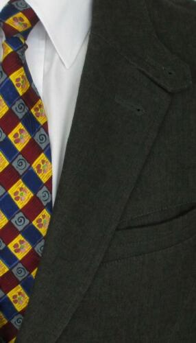 Armani A Coton Giorgio Tweed 2btn Hommes Sport R Veste 44 x Manteau Gris 42 wqAIt0w