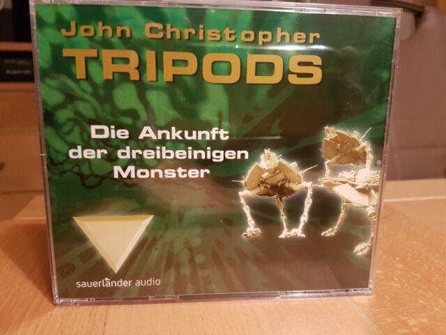 Hörbuch Tripods - Die Ankunft der dreibeinigen Monster 4 CDs - John Christopher