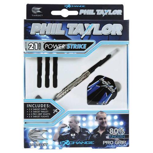 Phil Taylor Target Darts Power Strike Darts 21g and 23g