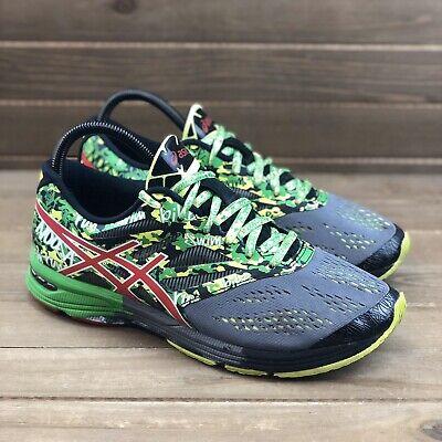 Asics Gel-Noosa Tri 10 Mens Sz 7.5 Gray Green Triathlon Running Shoes #T530N | eBay