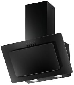 PKM-Dunstabzugshaube-S22-60BBPY-Glas-schwarz-Kopffreihaube-LED-60cm-Schraeghaube