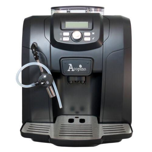 schwarz Acopino Ravenna Kaffeevollautomat Espressomaschine