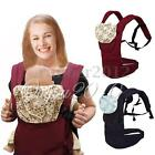 Adjustable Infant Baby Carrier Sling Newborn Kid Wrap Rider Comfort Backpack new