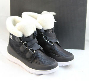 af7fc8c4d New SOREL Explorer Carnival Size 6.5 M Black Women's Snow Boots ...
