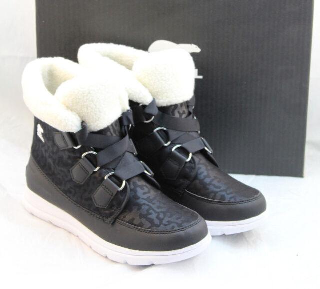 ebe2fb2c6df Sorel Size 7 M (us) Explorer Carnival Black Snow BOOTS Women Retail 79