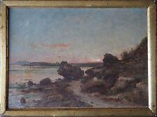 Jules LAURENS (1825-1904) Tombée du jour au Proche-Orient