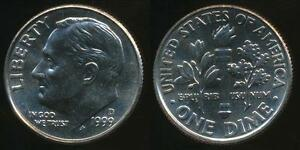 United-States-1999-D-Dime-Roosevelt-Uncirculated