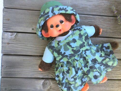 Kleidung für MONCHICHI  xxl Gr 45 cm Camouflage Armee Army Kleid Puppenkleidung