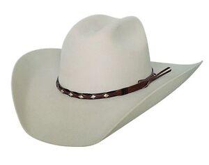 9842701000693 Bullhide Black or Buckskin 8X Fur Felt Cowboy Hat - TRUE WEST ...