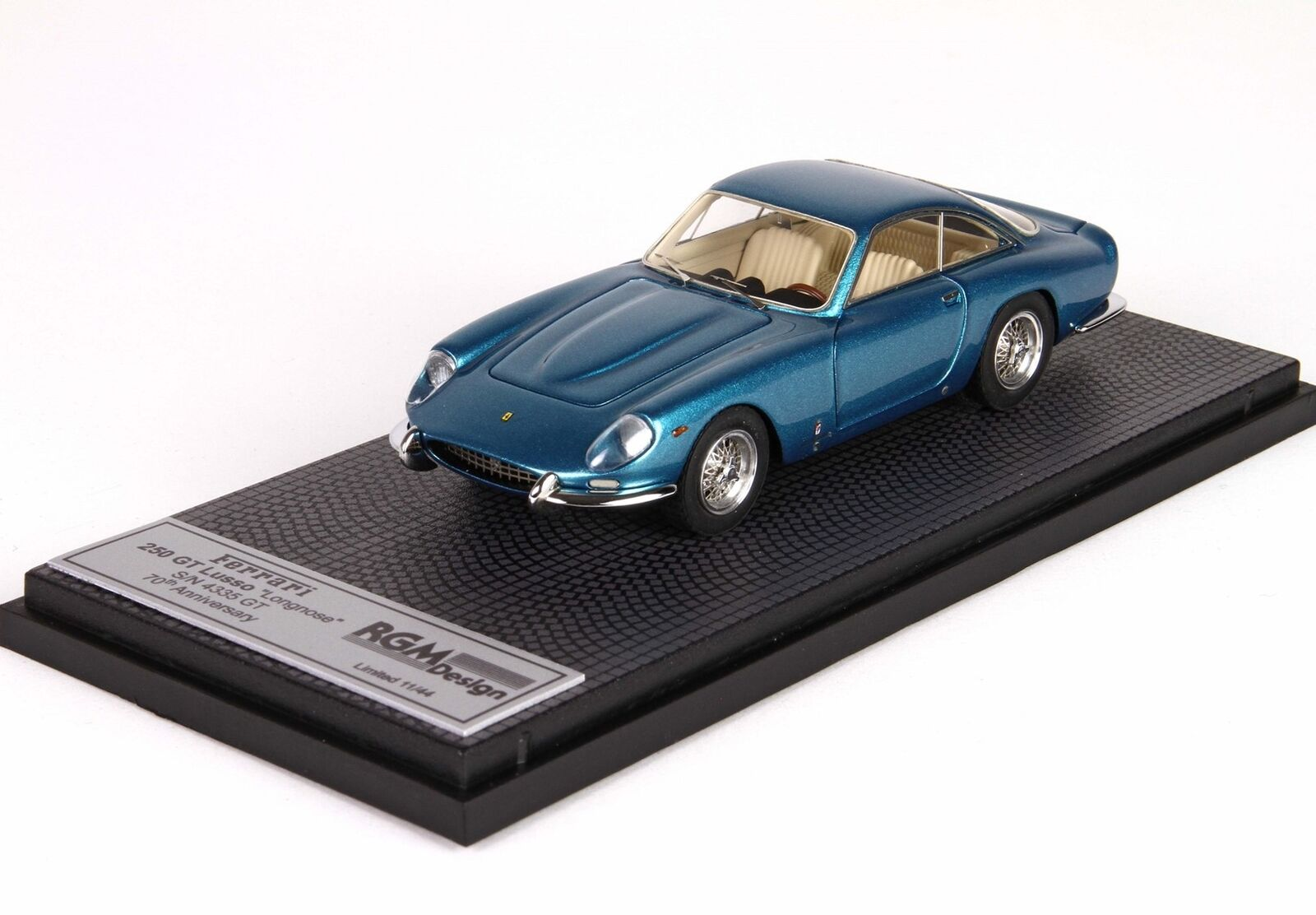 Ferrari 250 Gt Lusso Longnose 1964 70Th Anniversary S N4335Gt BBR 1 43 RGM15-8