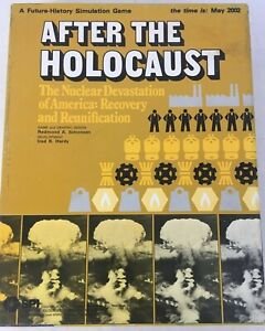 1977-SPI-After-The-Holocaust-Power-Politics-Board-Game-KAH-966-Rare-1st-Edition
