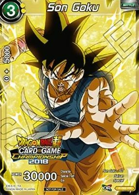 P-066 PR M//NM Dragon Ball Super CCG TCG Son Goku 1 x FOIL PROMO