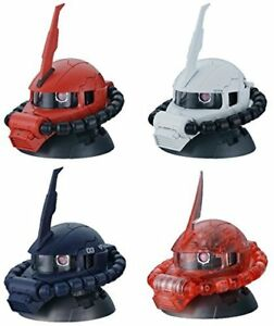 Gundam-Exceed-Model-Vol-2-Zaku-Head-Figure-MS-06-Zaku-Whole-Set-of-Four-13483