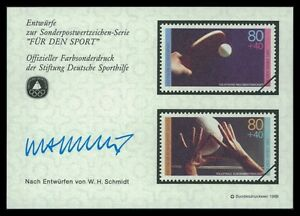BUND-SPORTHILFE-1989-ENTWURFE-TISCHTENNIS-VOLLEYBALL-TABLE-TENNIS-PROOFS-by28