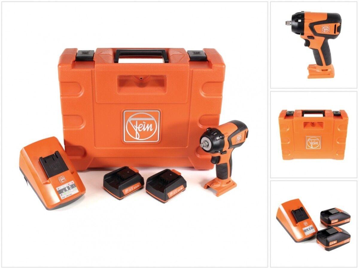 FEIN ASCD 12-150 W8C Brushless Schlagschrauber + Koffer + 2 x 2,5Ah Akku + Lader