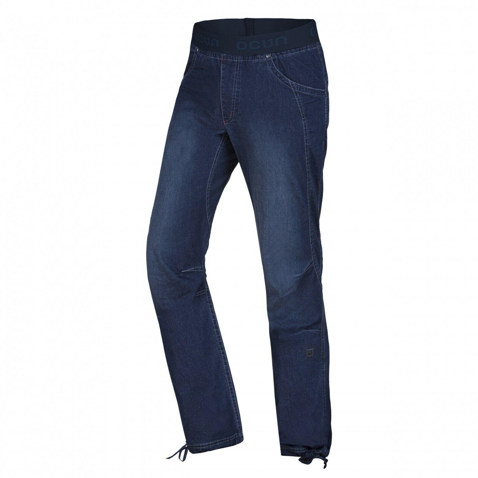 Ocun Mania Mania Mania Vaqueros Ligero Elástico Boulderjeans Pantalones Escalada para Hombre 80c2dd