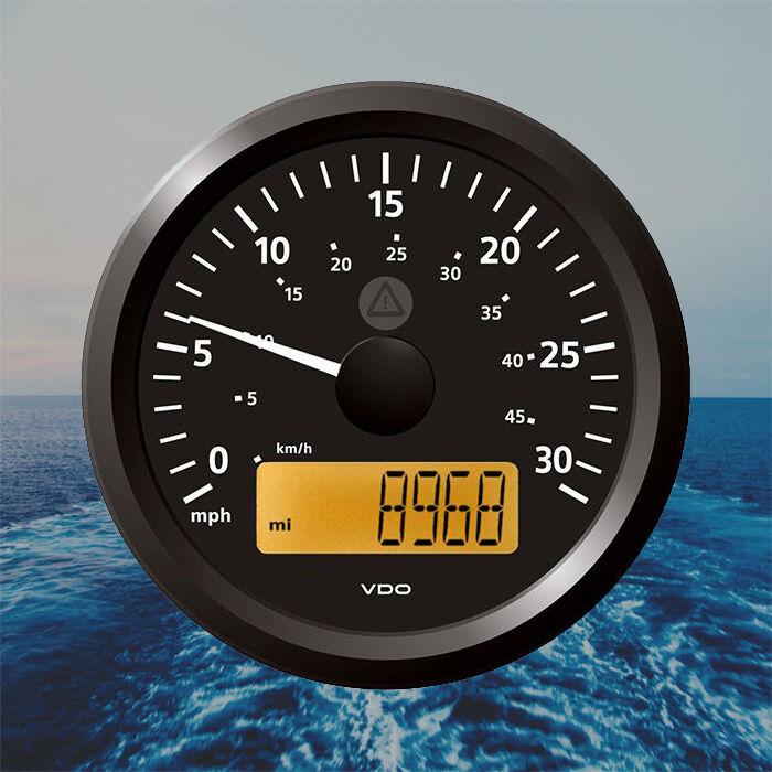 VDO Viewline Geschwindigkeistmesser Stiefel LCD 85mm 3