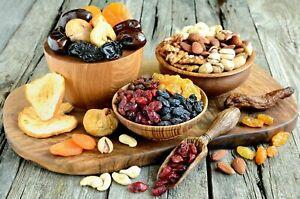 1 kg doux séchés Mélange de fruits et de noix-ABRICOTS. prunes figues Pear dates mix.