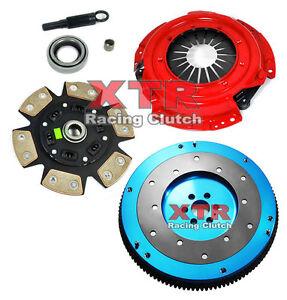 xtr stage 3 clutch kit \u0026 aluminum flywheel for nissan 240sx ka24e 240SX Roof Rack image is loading xtr stage 3 clutch kit amp aluminum flywheel