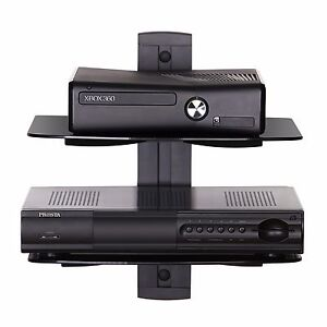 Fitueyes-Bracket-Under-TV-Component-AV-Shelf-DVR-Cable-Box-Console-Wall-Mount