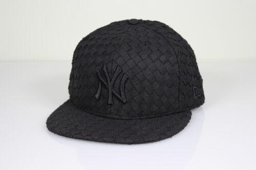 NEW Era 9 fifty New York Yankees Snapback Cap Black//Black NY berretto