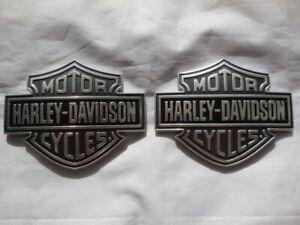 Harley-Davidson-Bar-amp-Shield-B-amp-S-Tank-Embleme-Tankschilder-61400055-amp-61400056