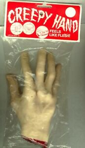 Fake-Hand-prop-creepy-hAllOwEEn-costume-dog-training-scary-funny-SURPRISE-arm
