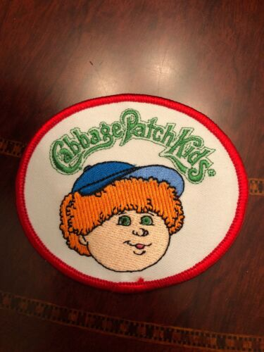 Cabbage Patch Kids Patches Iron On Vintage 2003