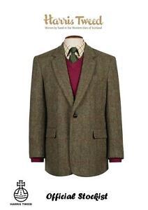 HARRIS-TWEED-Taransay-Classic-Jacket-Official-Stockist-Virgin-wool-All-Sizes