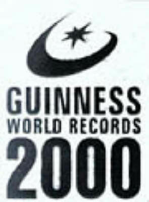 """AS NEW"" Guinness World Records 2000 Millennium Edition, Var., Book"