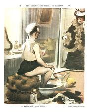 Publicité ancienne dessin d'Albert Guillaume 1981 issue du livre