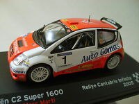 Ixo Altaya - Citroen C2 Super Wrc - 2005 Rally Of Cantabria - Sordi / Marti 1:43