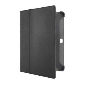 Belkin-10-1in-Cinema-Leather-Folio-Case-with-Stand-for-Samsung-Tab-2-Black