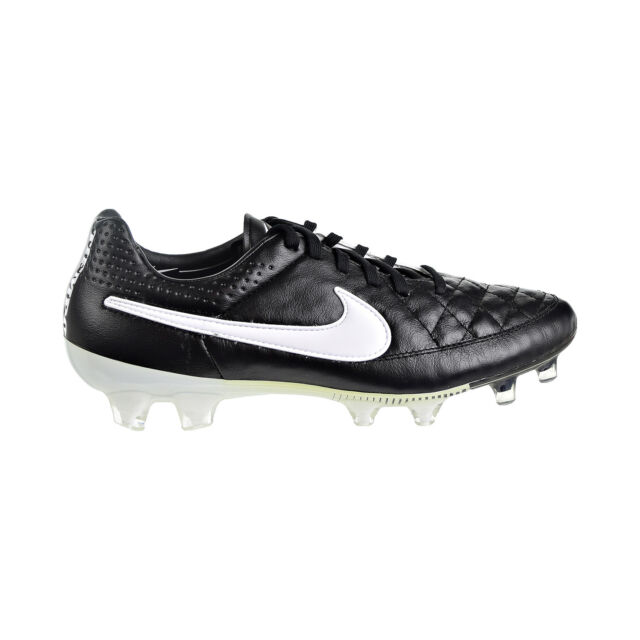 more photos ab2b7 28158 Nike Tiempo Legend V FG Men's Shoes White/Black 631518-010