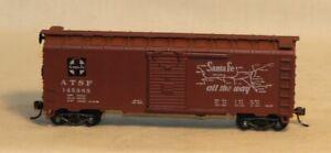 Athearn HO Scale ATSF 145385 Santa Fe Map Grand Canyon Line 40' Box Car