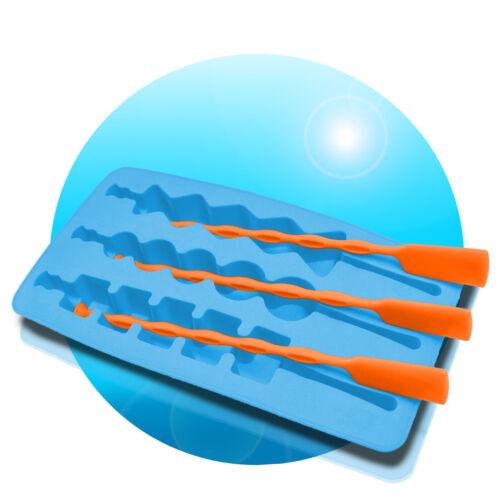 Eis am Stiel Silikon-Eiswürfelform Lollyform Wassereis Silikonform Schokolade