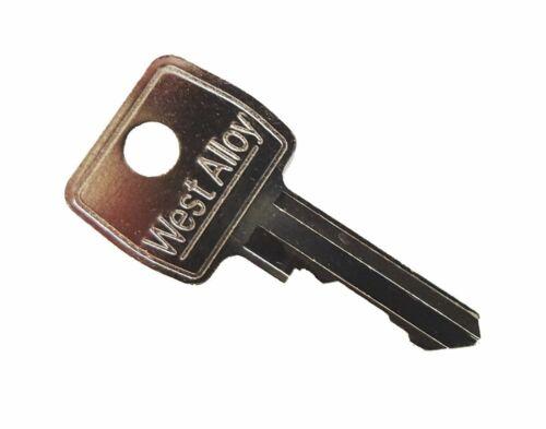 W4 MC Replacement Caravan Door Key Number MC57
