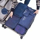 Travel Organizers Packing Cubes 6 pc Set Luggage Suitcase Bag Accessories Pouch