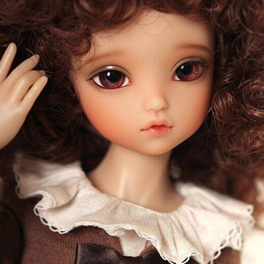 1 6 muñeca de BJD SD muñeca BB Irene libre de Cara Maquillaje Ojos +