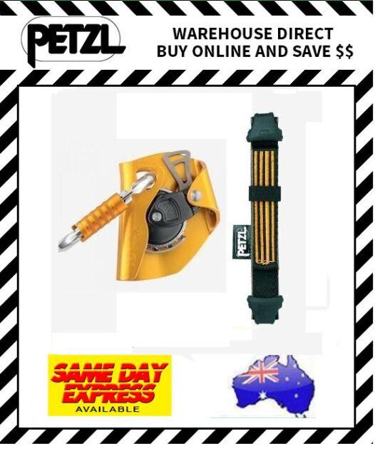 Petzl ASAP Mobile Fall Arrest Device 20cm Asap'sorber Carabiner Rope Climbing
