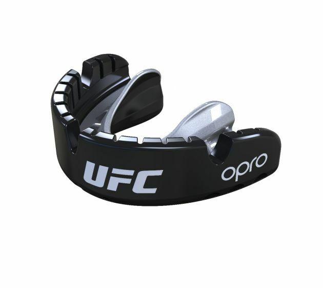 Opro UFC gen 4 Mundschutz Gold Level Hosenträger Schwarz Boxen Rugby Mma  | Offizielle