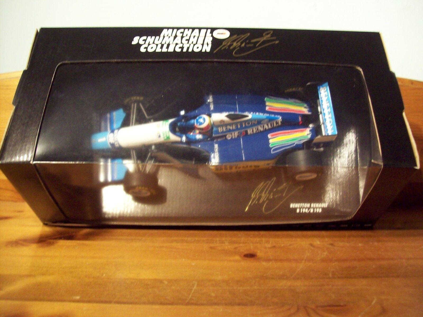 1/18 Michael Schumacher Benetton FORD B194/5 Car Champion du Monde 1995   Supérieurs Performances