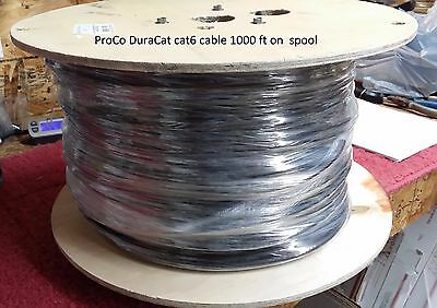 cat6 UTP Digital Snake ON REEL Made from ProCo DuraCat Cable Free US Ship 100 FT